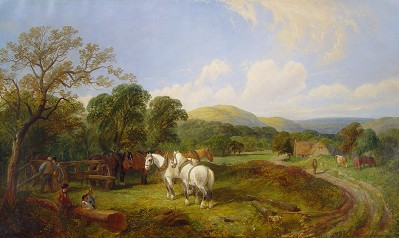 Ziemie Reach Edwin-L-Meadows-English-Countryside